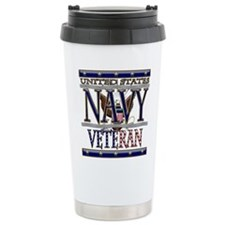 USN Navy Veteran Travel Mug