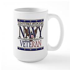 USN Navy Veteran Mug