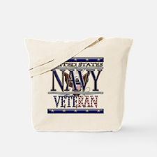 USN Navy Veteran Tote Bag