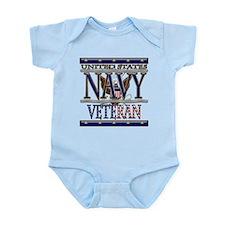 USN Navy Veteran Infant Bodysuit