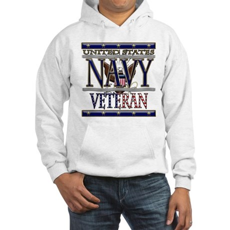 USN Navy Veteran Hooded Sweatshirt
