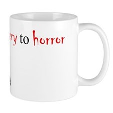 CastleTV Prefer Mystery to Horror Mug