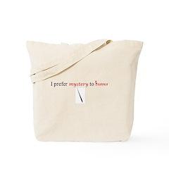 CastleTV Prefer Mystery to Horror Tote Bag