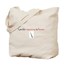 CastleTV Prefer Mystery to Horror Tote Bag