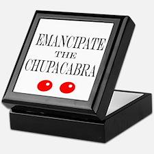 Emancipate the Chupacabra Keepsake Box