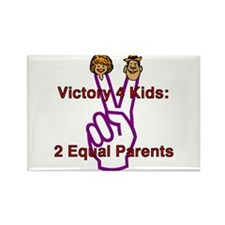 Victory 4 Kids Rectangle Magnet