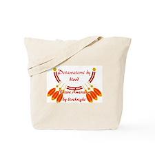 """""""Potawatomi"""" Tote Bag"""