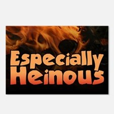 Especially Heinous... Postcards (Package of 8)