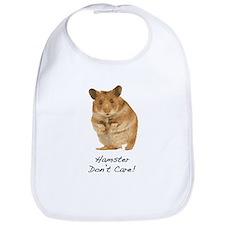 Hamster Don't Care! Bib
