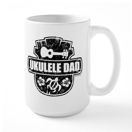 Ukulele Dad Large Mug