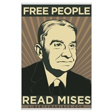 Read Mises Large Poster