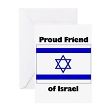 Proud Friend of Israel Greeting Card