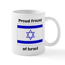 Proud Friend of Israel Mug