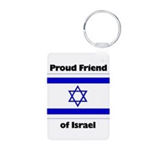 Proud Friend of Israel Keychains