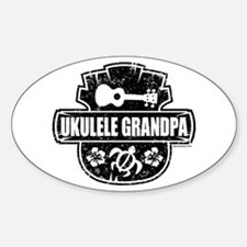 Ukulele Grandpa Decal