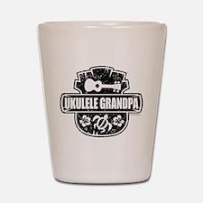 Ukulele Grandpa Shot Glass