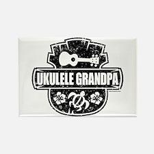 Ukulele Grandpa Rectangle Magnet