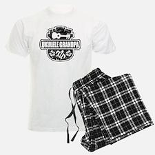 Ukulele Grandpa pajamas