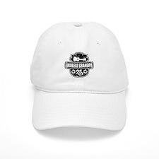 Ukulele Grandpa Baseball Cap