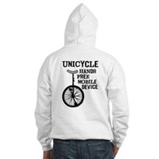 Mobile Device Bold Hoodie