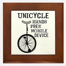 Mobile Device Bold Framed Tile
