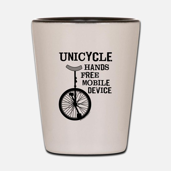 Mobile Device Bold Shot Glass