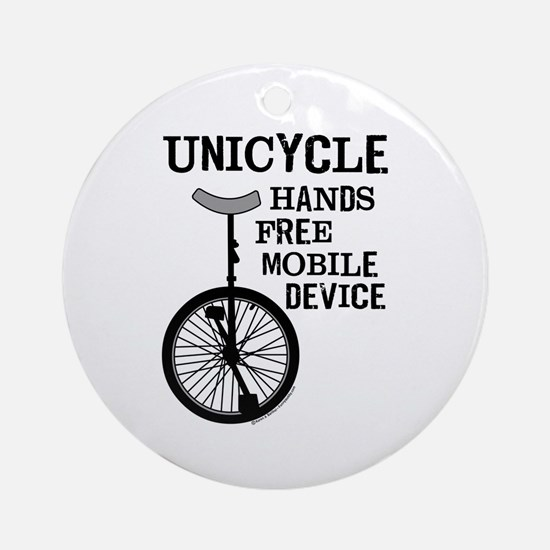 Mobile Device Bold Ornament (Round)