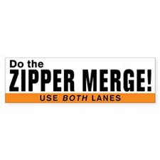 zipperBumperBumper Sticker Bumper Bumper Sticker