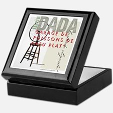 DADA Day, too Keepsake Box