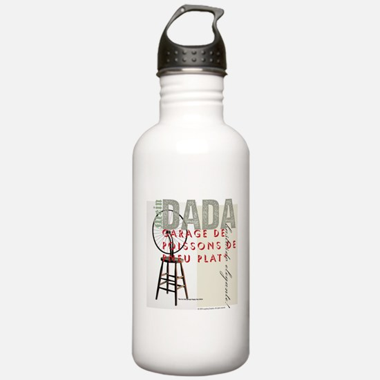 DADA Day, too Water Bottle