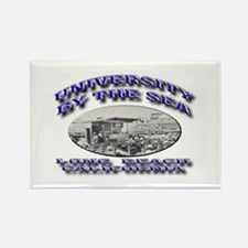 University by the Sea Rectangle Magnet
