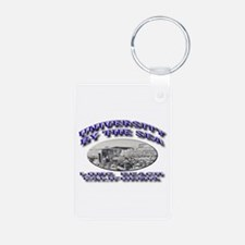 University by the Sea Keychains