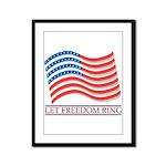 let freedom ring Framed Panel Print