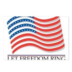 let freedom ring Postcards (Package of 8)