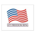 let freedom ring Small Poster