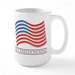 let freedom ring Large Mug