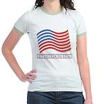 let freedom ring Jr. Ringer T-Shirt