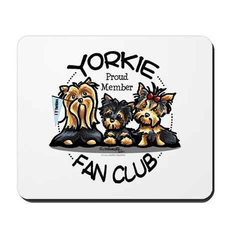 Yorkie Lover Mousepad