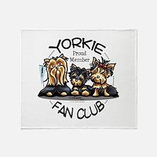 Yorkie Lover Throw Blanket
