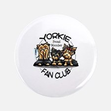 """Yorkie Lover 3.5"""" Button"""