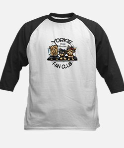 Yorkie Lover Kids Baseball Jersey
