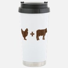 Brown Chicken Brown Cow Travel Mug