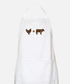 Brown Chicken Brown Cow Apron