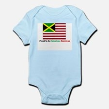 Jamaican American Infant Bodysuit