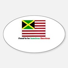 Jamaican American Decal