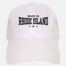 Made In Rhode Island Baseball Baseball Cap