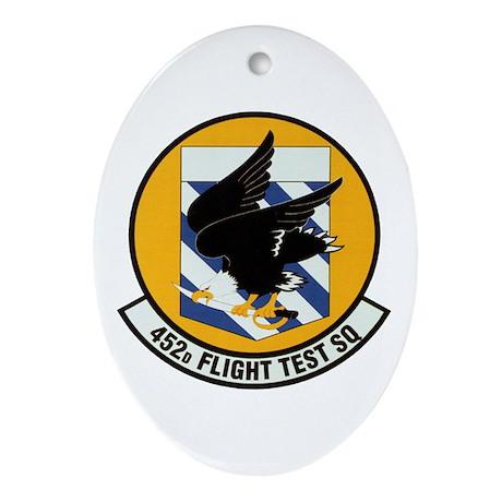 452d Flight Test Oval Ornament