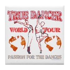 True Dancer Tile Coaster