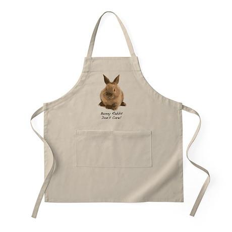 Bunny Rabbit Don't Care! Apron