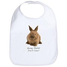Bunny Rabbit Don't Care! Bib